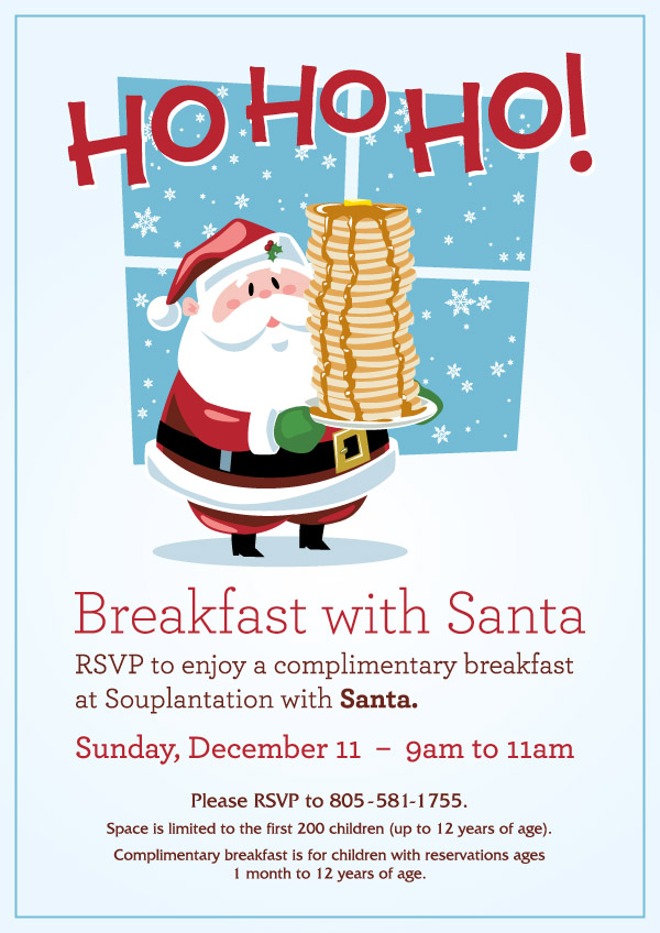 Simi Valley Town Center - Breakfast with Santa